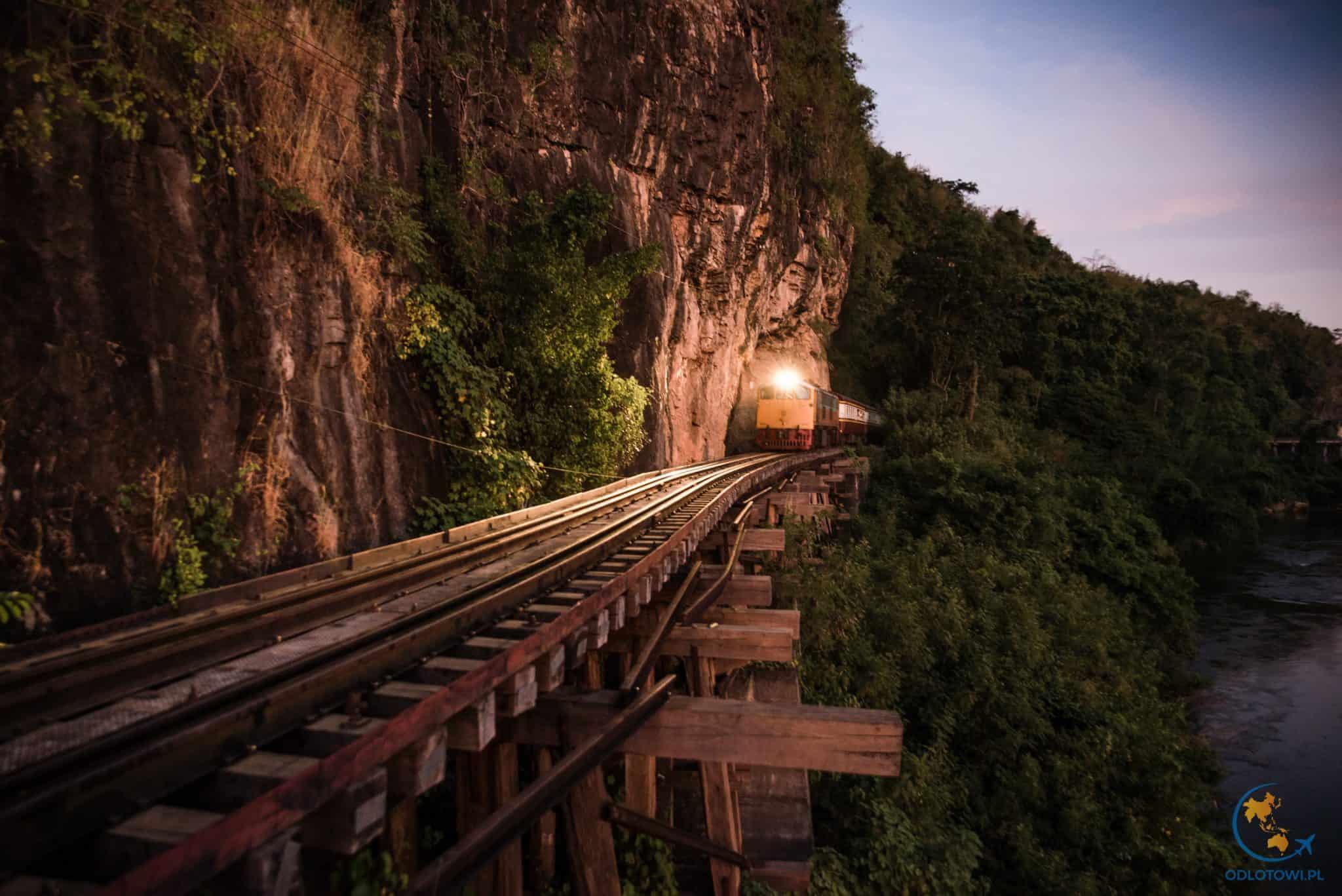 Kanchanaburi - Kolej śmierci (Death Railway)