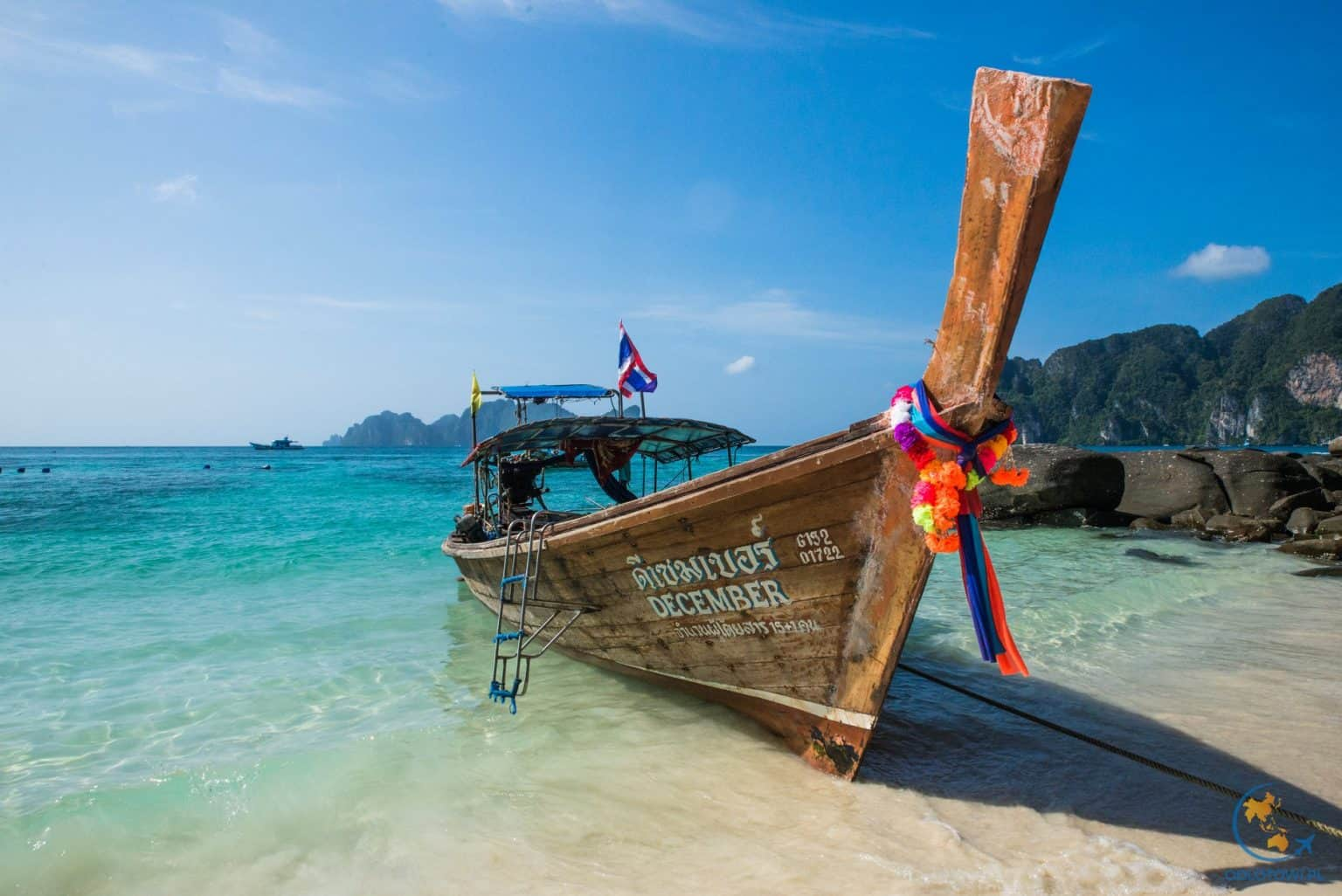 Plaża przy naszej miejscówce na Koh Phi Phi
