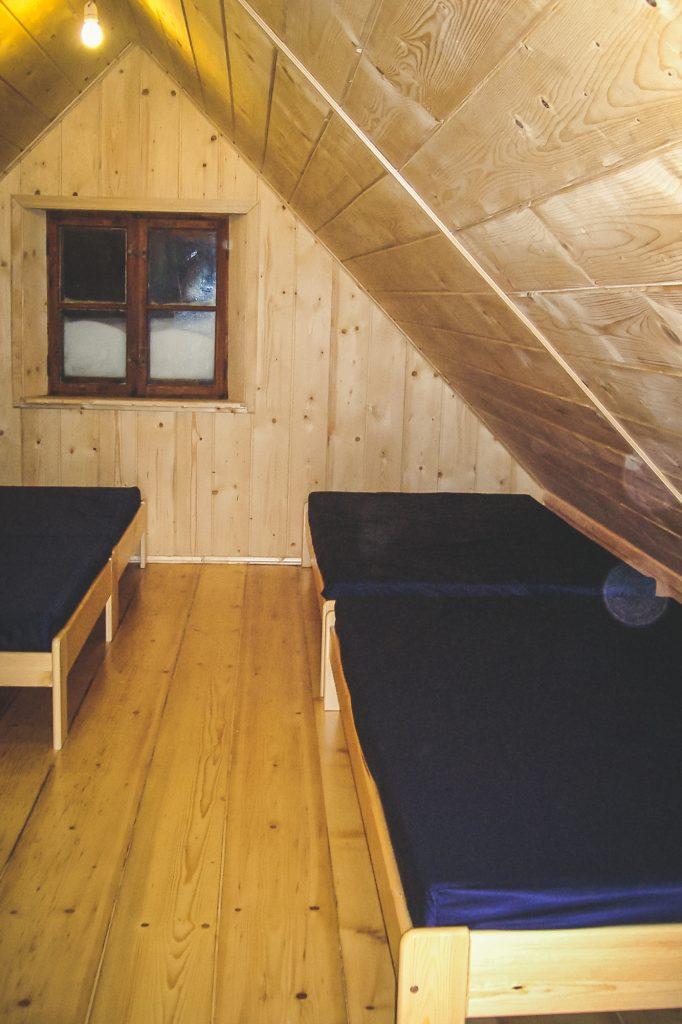 Izba sypialna, jedna z czterech