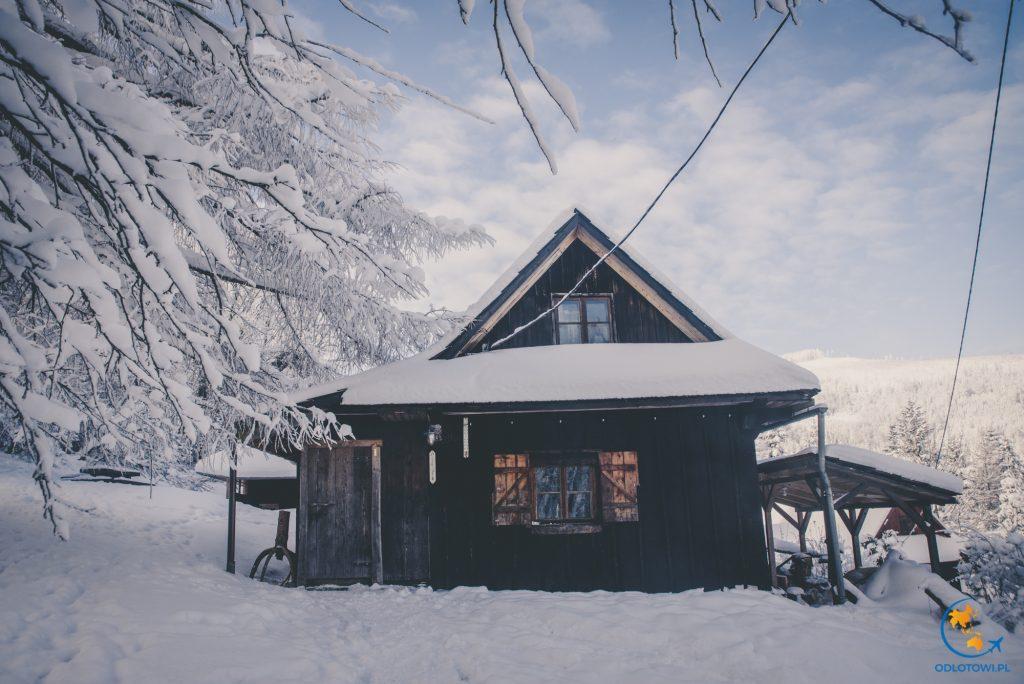 Poglądowe zdjęcie Chatki, w czerwcu śniegu nie będzie :)