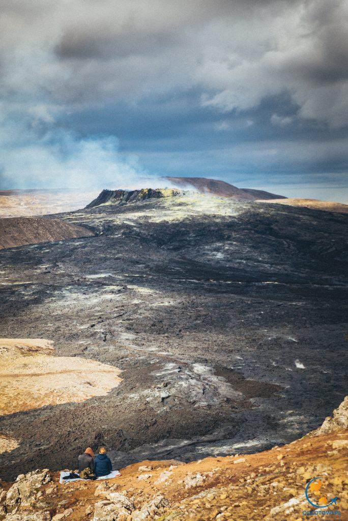 Wulkan Fagradalsfjall